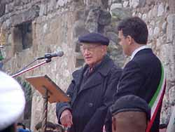 Herman                   speaking at S. Pietro