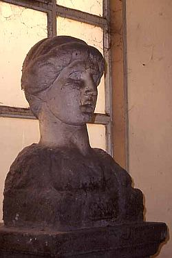 bust of               Parthenope