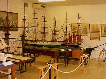 display                 from marine museum