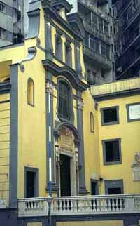 Greek Orthodox church in Naples