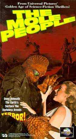 film poster: Mole People