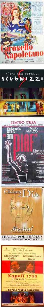various musical poster